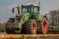 Fendt 939 met celli 6 meter graslandfrees