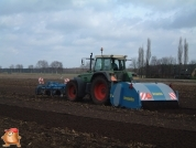 Fendt 824 met Imants spitmachine