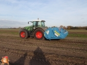 Fendt 936 met Imants 4,5 meter spitmachine